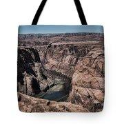 Natural View Colorado River Page Arizona  Tote Bag