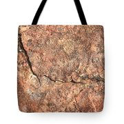 Nature Abstract - Cracked Tote Bag