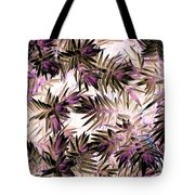 Nature Abstract In Pink And Brown Tote Bag