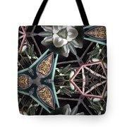 Nature And Geometry Tote Bag