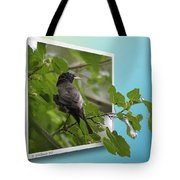 Nature Bird Tote Bag