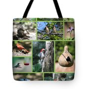 Nature Collage Tote Bag