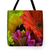 Nature Colorful Bouquet Tote Bag