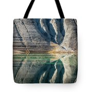 Nature Colorful Water Abstract Tote Bag