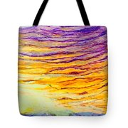 Nature Fireworks On The 4th Of July  Tote Bag