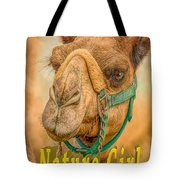 Nature Girl Camel Tote Bag