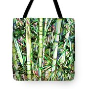 Nature Green Background Tote Bag