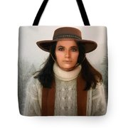 Nature Harmony Self Portrait  Tote Bag by Colette V Hera Guggenheim
