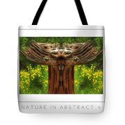 Nature In Abstract 4 Poster Tote Bag
