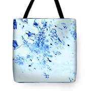 Nature In Blue Tote Bag