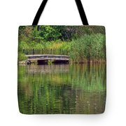 Nature In Green Tote Bag