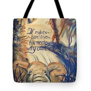 Nature In Harmony Tote Bag