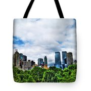 Nature In Metropolis Tote Bag