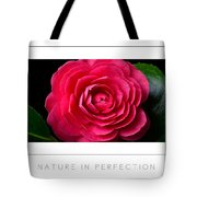 Nature In Perfection Poster Tote Bag