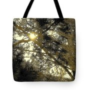 Nature In The Crosshairs Tote Bag