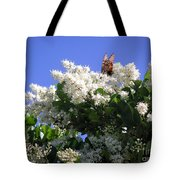 Nature In The Wild - Bathing In Blooms Tote Bag