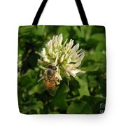 Nature In The Wild - Clover Honey Tote Bag