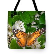 Nature In The Wild - On Golden Wings Tote Bag