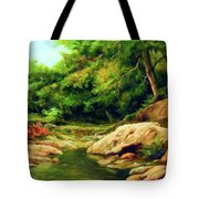 Nature Is Beautiful Impressionism Tote Bag