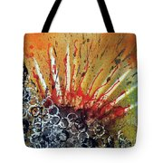 Nature Is Life Life Is Nature Be Bright Be Bold Series Tote Bag