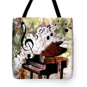 Nature Is Music To My Soul Tote Bag