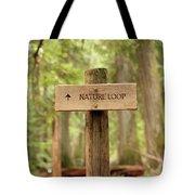 Nature Loop Sign Tote Bag