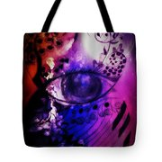 Nature N Music Abstract Tote Bag