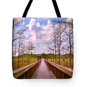 Nature Path Tote Bag
