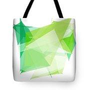 Nature Polygon Pattern Tote Bag