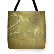 Nature Study In Gold  Tote Bag