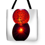 Nature Through My Crystal Ball Tote Bag