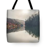 Nature Views Near Chimney Rock And Lake Lure Tote Bag