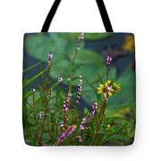 Nature Water Garden Tote Bag