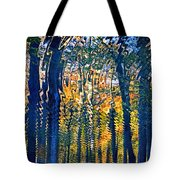 Nature Water Ripples Reflection On Water Tote Bag