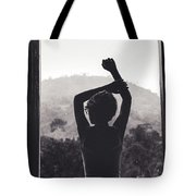 Nature Window. Tote Bag