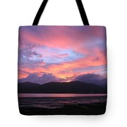 Nature's Cairns Sunrise Tote Bag