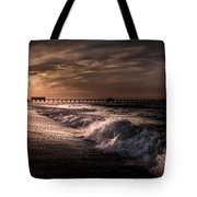Natures Drama  Tote Bag by Kim Loftis