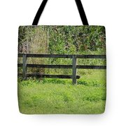 Natures Fence Tote Bag