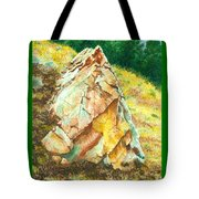 Nature's Granite Sculpture Tote Bag