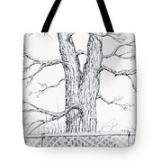 Nature's Lines Tote Bag