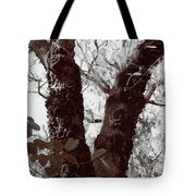 Nature's Peace Sign Tote Bag