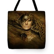 Nature's Spotted Ghost Tote Bag