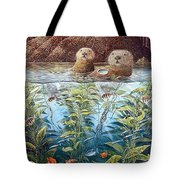 Natures Union At Monterey Robert Lyn Nelson Tote Bag