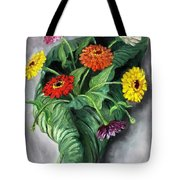 Nature's Vase Tote Bag