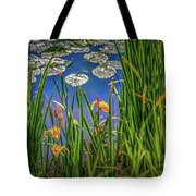Nature's Window #h5 Tote Bag by Leif Sohlman