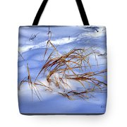 Nature's Winter Abstract #3 Tote Bag