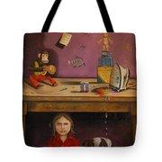Naughty Child Tote Bag