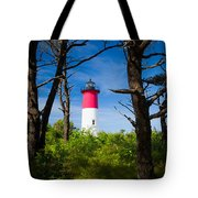 Nauset Lighthouse Tote Bag