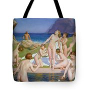 Nausicaa Tote Bag by William McGregor Paxton