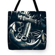Nautic Blue Tote Bag